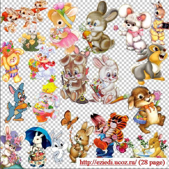 Картинки зайцев из мультиков.